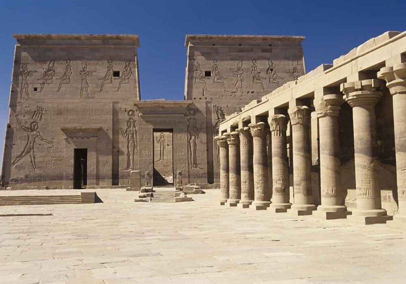 Philae, Egypt,Temple of Isis