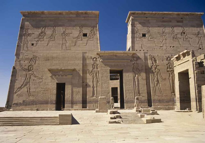 Philae, Aswan, Egypt,Temple of Isis
